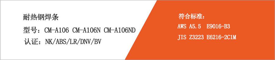 耐热钢焊条CM-A106