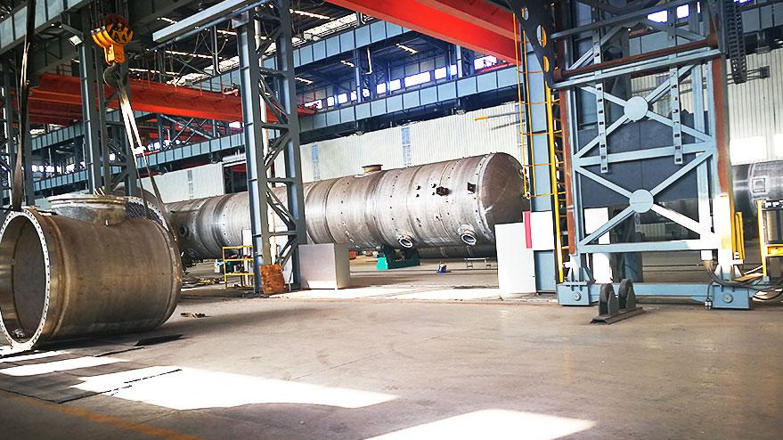 瑞涵焊材为威海化机提供压力容器焊材案例